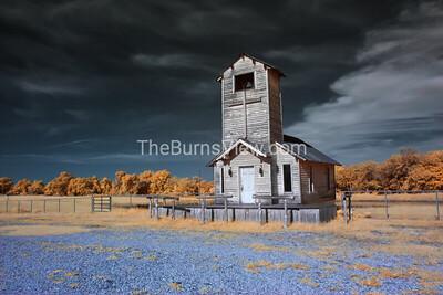 Kings Trail Prayer Chapel in Infrared