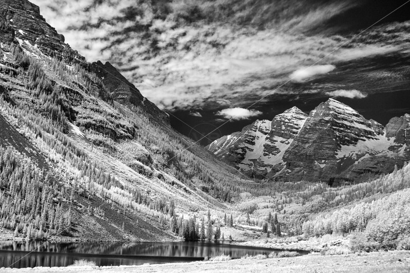 The Maroon Bells from Maroon Lake