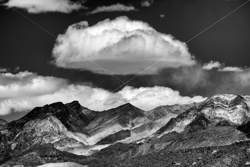 Cloudscape at Zabriskie Point