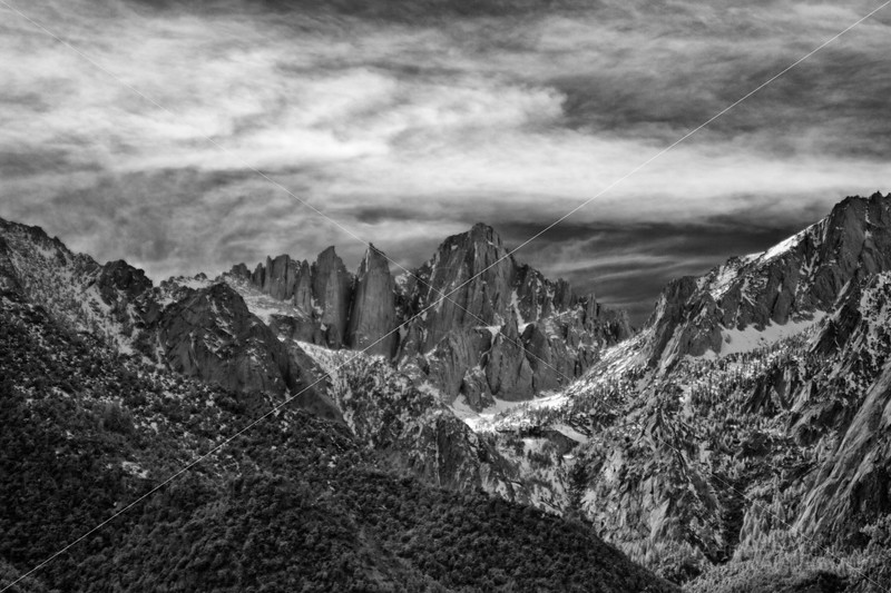Another Peek at Mt. Whitney