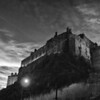 Edinburgh Castle, Scotland. Photographed February 2012.