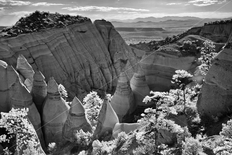 Tent Rocks National Monument, New Mexico. Photographed June 2011.