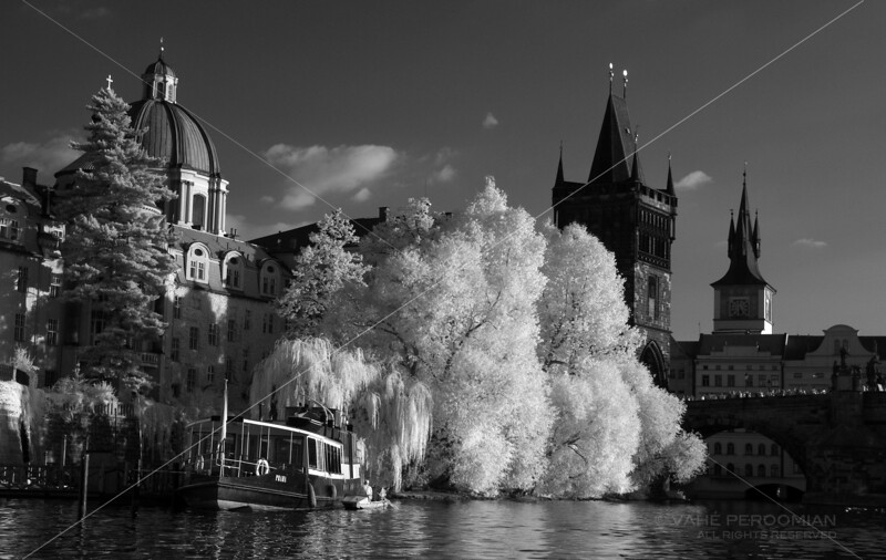 Prague Riverscape I