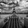 The Eiffel Tower and Fountains