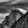 Half Dome and Clouds