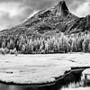 Cathedral Peak from Lower Cathedral Lake
