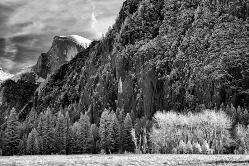 Peeking Half Dome