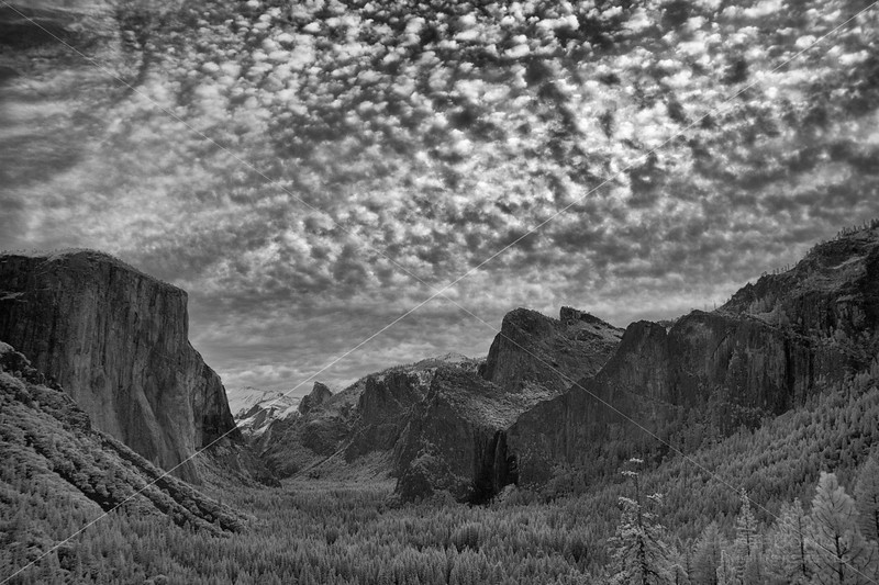 Infrared Sunrise, Tunnel View