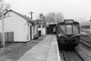 April 65:  Shortly before closure a DMU stands in Calne station