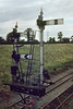 1973:  The junction signal at Clink Road Junction