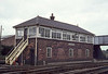 1973:  Westbury North Box.  With 99 levers this Box usually had 2 signal men.  Thanks to Kevin Zz for telling me that the original caption was wrong