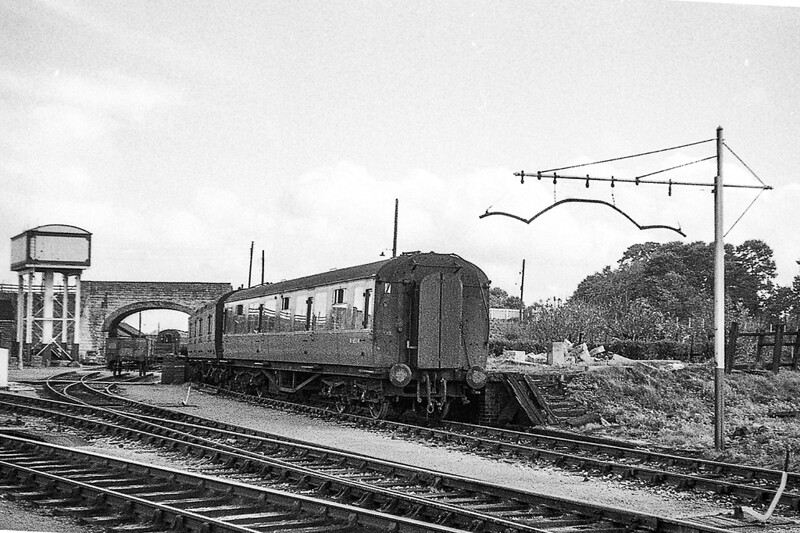 May 1964:  The old Milk Dock at Westbury North.  The visible stone bridge parapet  is sill there  although the bridge has long gone. when the road was realigned