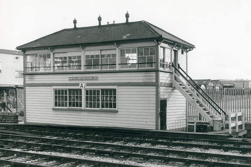 1970  Ashton Junction Signal Box