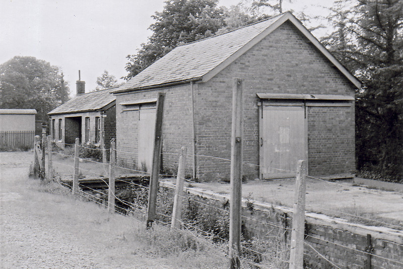 8th Sep 65:  Staverton long before the Dart Valley took it over