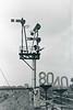 25th Dec 72:  Junction signal at Heywood Road