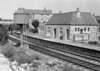 September 1962:  The rather functional station building at Easton on Portland Bill.  It originally did have a canopy