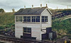 1973:  Clink Road Junction Signal Box getting a refurb and repaint.