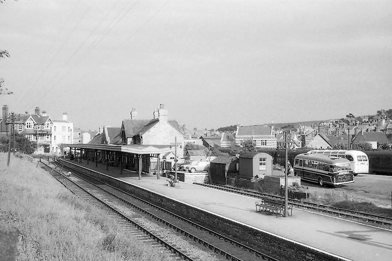 Aug1962:  Swanage Station