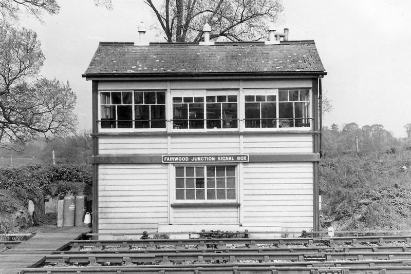 1st Jan 72:  Fairwood Junction Signal Box