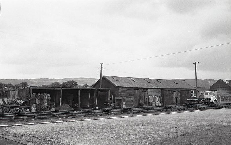 6th Sep 1965;  Coal siding at  Bere Alston