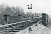 25th Dec 72:  The signal controlling entry to the Westbury cement works at Heywood Road,