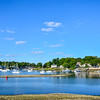 Boats on Mamaroneck Harbor
