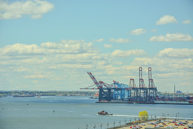 Cranes of Port Newark