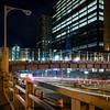 Night PED Bridge