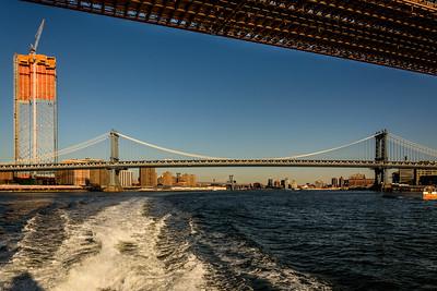 Skyscraper and Manhattan Bridge