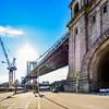 Beneath the Manhattan Bridge