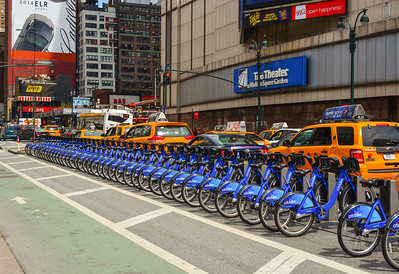 Blue Bikes Midtown