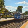 Port Jervis Express passing through Ridgewood