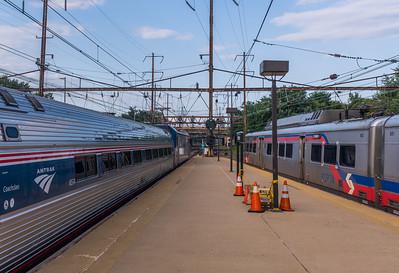 Departing Trains