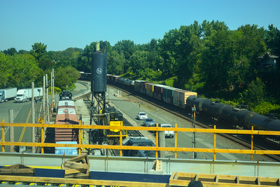Freight Trains in Ridgefield Park