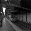 Uptown R train at Whitehall Street