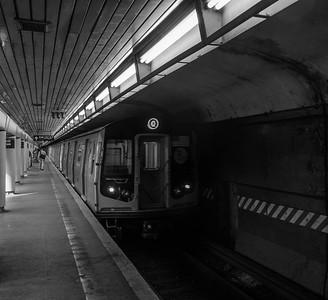Q Train at Church Avenue