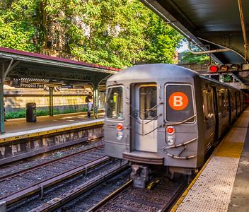 B-Leaving Prospect Park Station