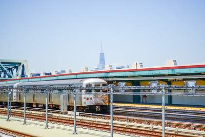 F Train at Smith - 9th Streets Station