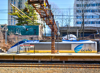 Acela Express at New Rochelle