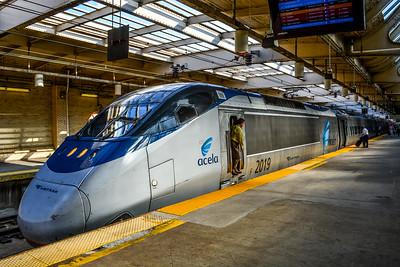 Acela Express on Track 1