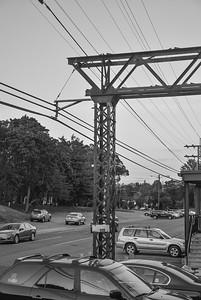 New York, Westchester and Boston Railway Catenary Mast
