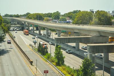 Above the Van Wyck Expressway