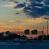 Westbound into the Sunset