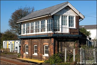 Thetford signal box,  04/11/2006.