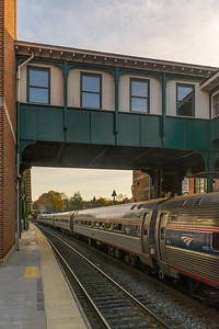 Amtrak Empire Service # 242 at Poughkeepsie