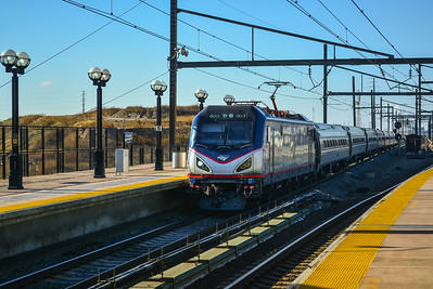 Eastbound #603 screaming into Secaucus