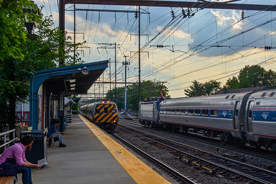 Eastbound meets Westbound in Metuchen
