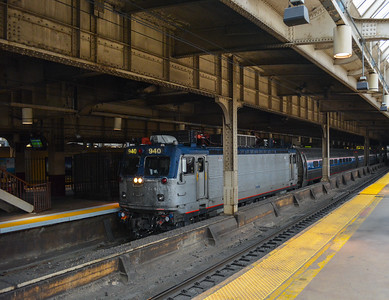 Eastbound Regional at Newark Penn
