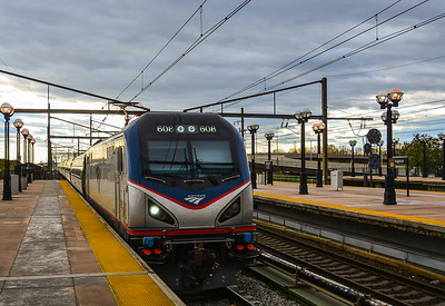 Amtrak Cities Sprinter # 608 at Secaucus JCT