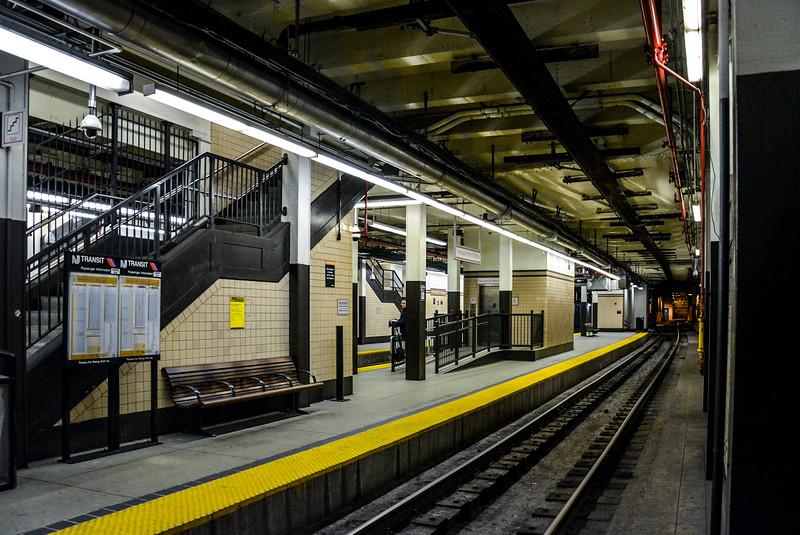 Newark Subway at Penn Station